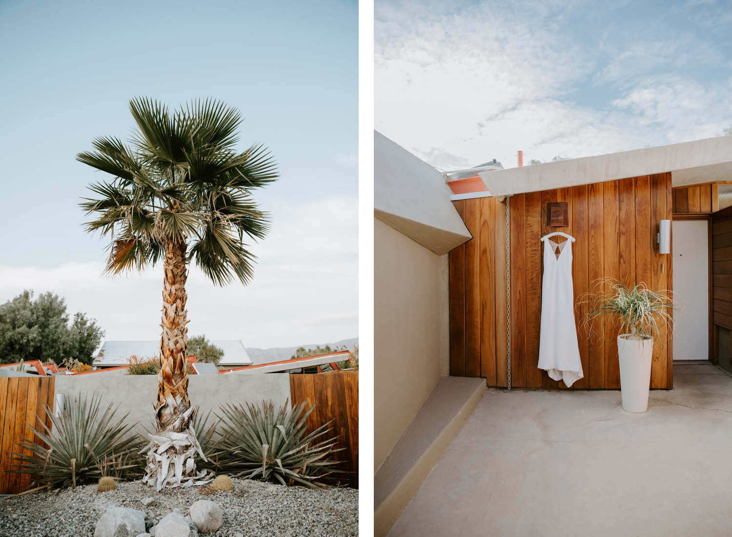 Mid Century Modern Palm Springs Wedding Lautner Compound May Iosotaluno Photography 65