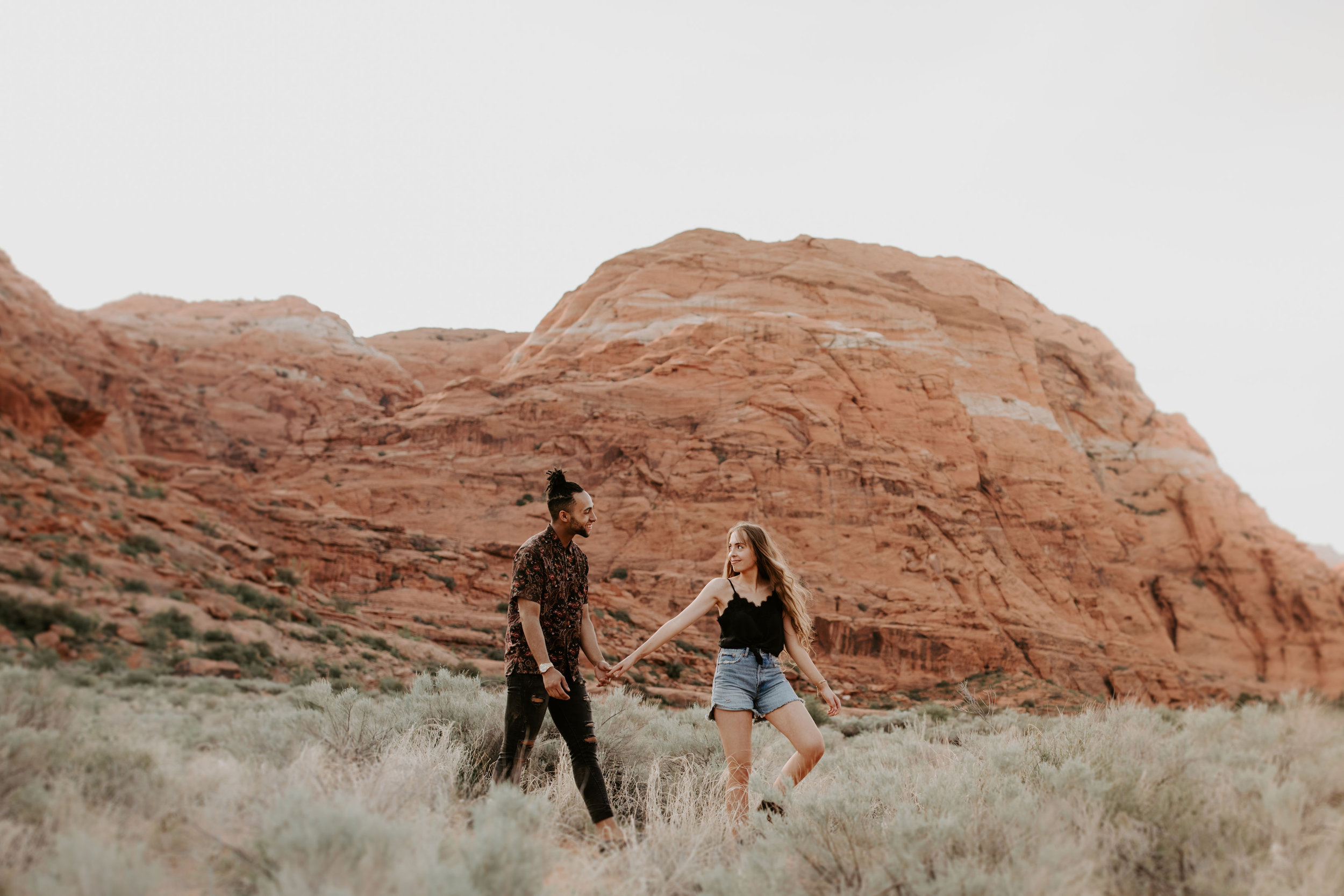 Utah Engagement Zion National Park Snow Canyon State Park May Iosotaluno Photography 1