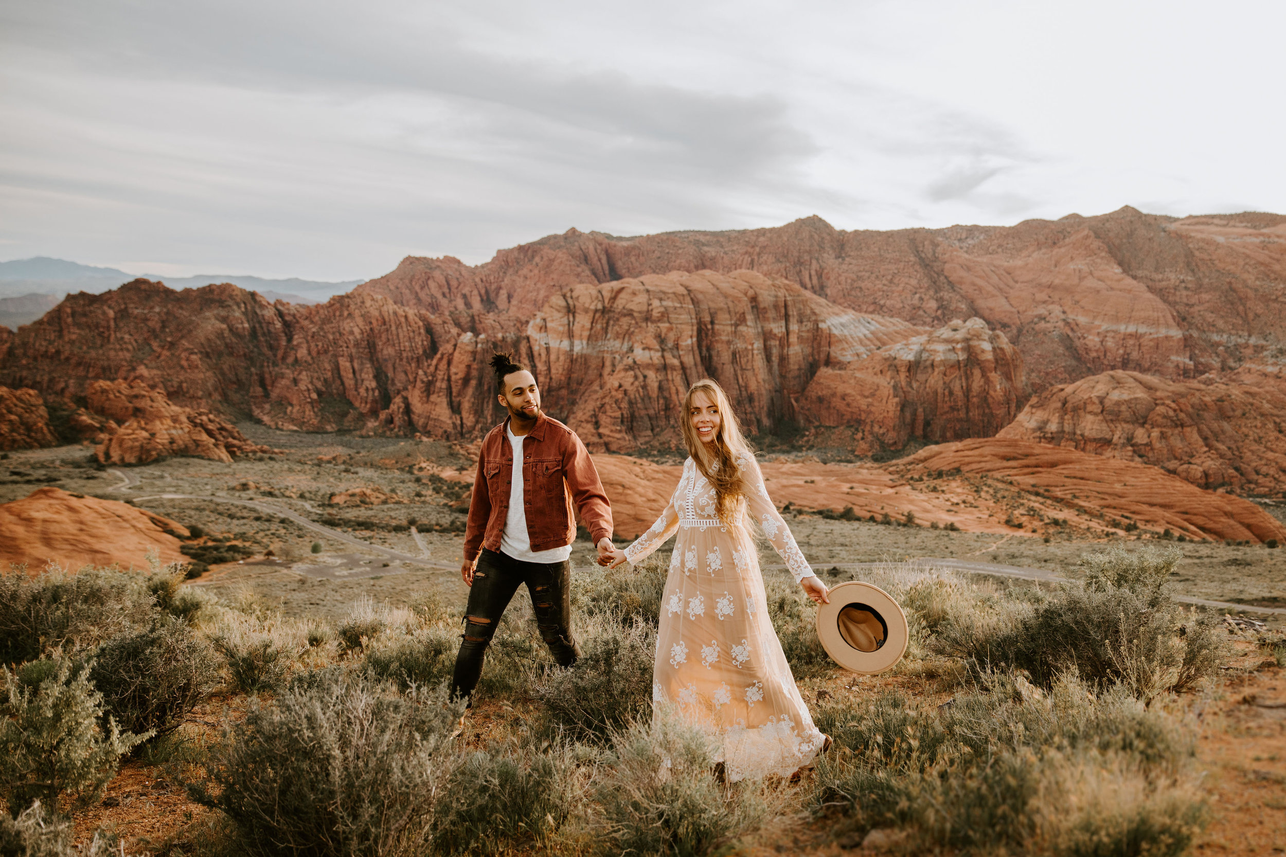 Utah Engagement Zion National Park Snow Canyon State Park May Iosotaluno Photography 24