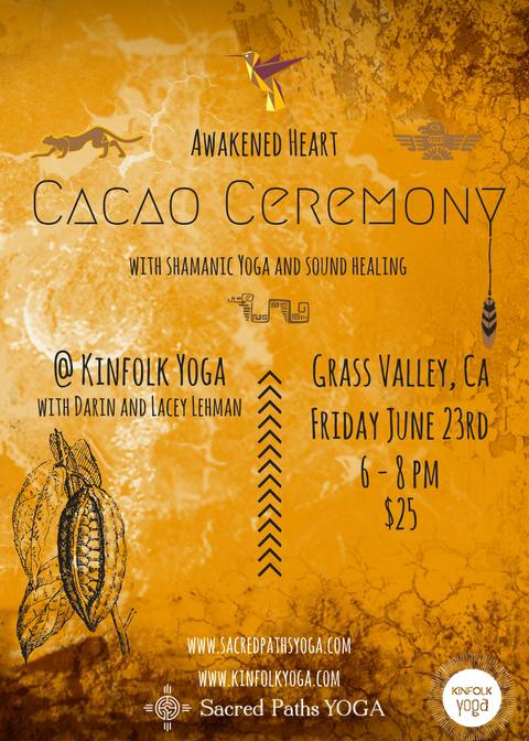 Cacao Ceremony Shananic Healing