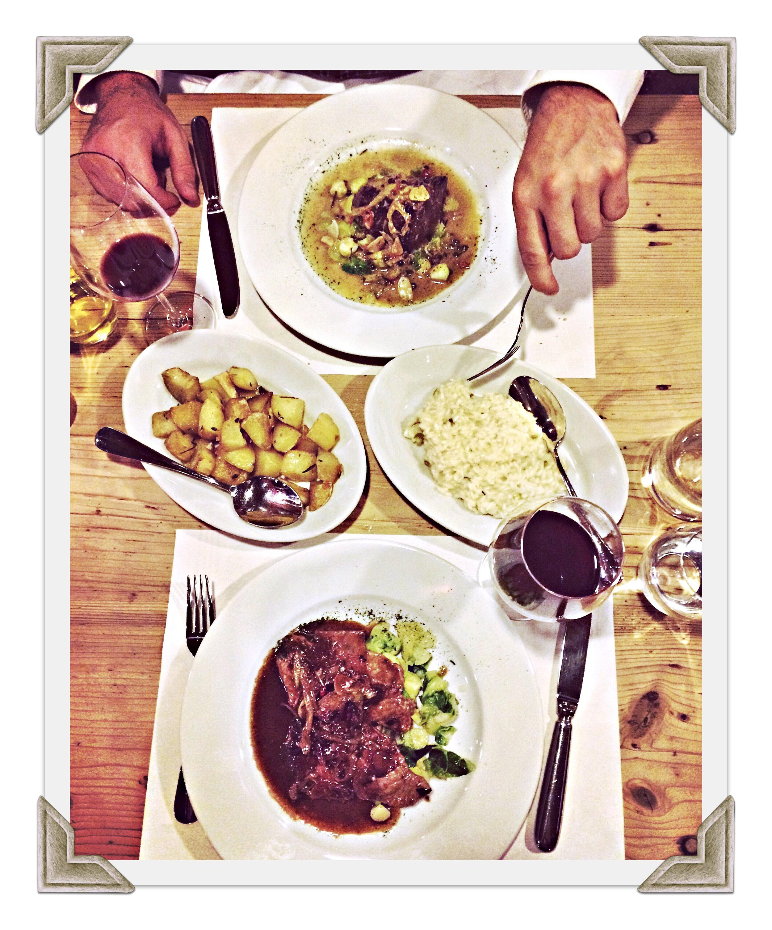 Secondi Piatti molto delicioso... inklusive dem Blumenkohl. So wie ihn Errico Mirto kocht, schmeckt er bestimmt auch Roskenkohl-Skeptikern!