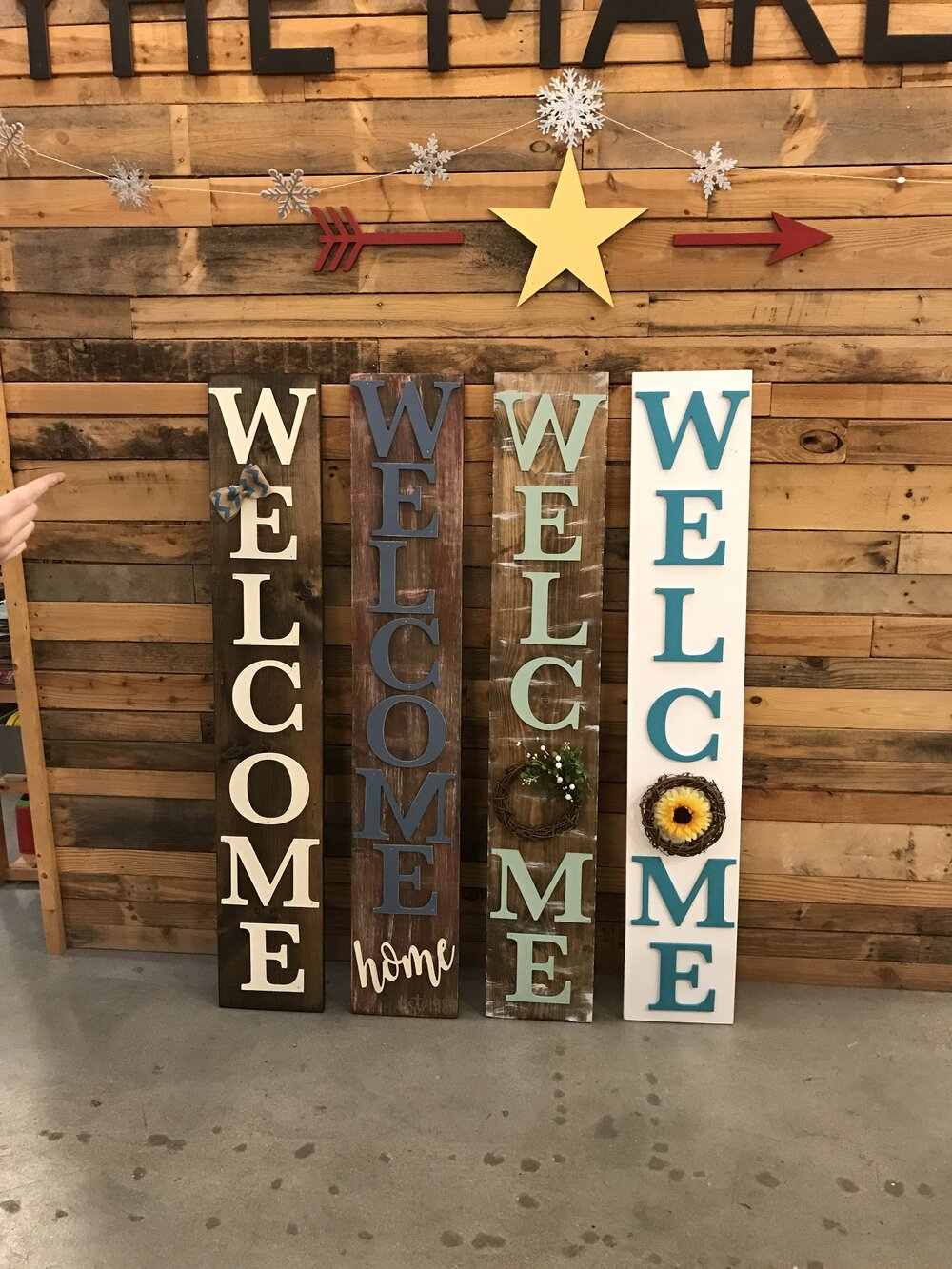 Front Porch Welcome Signs The Makery