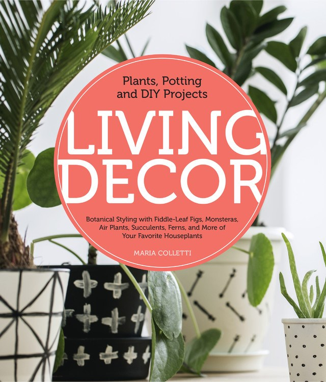 Living Decor - Living Decor is a manual to introducing the life, beauty, and health benefits of plants into your home in creative ways. Authored by Maria Colletti (Terrariums: Gardens Under Glass), this lovely book is an easy read, and brings fun to creating your own arrangements with moss, succulents, air plants, and other favorite indoor greenery. To tie it all together, Living Decoralso offers simple guidance for taking care of your plants and DIY tips.Read more here!