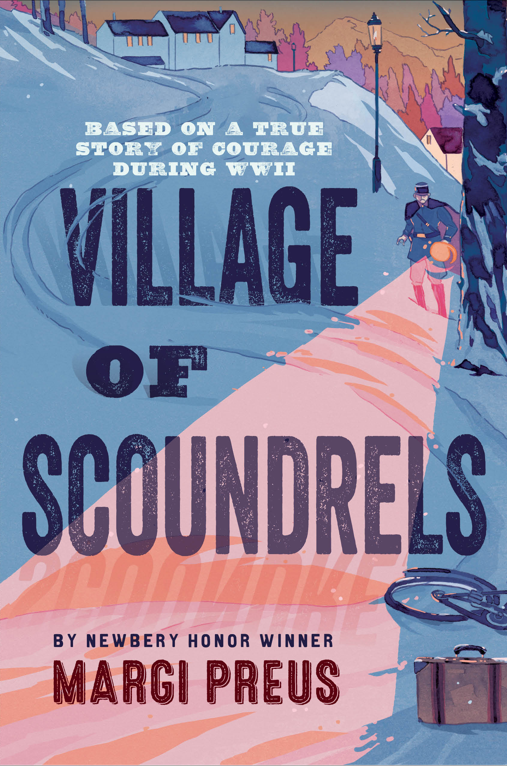 Village of ScoundrelsMargi Preus - Based on the true story of the French villagers in WWII who saved thousands of Jews, this novel tells how a group of young teenagers stood up for what is right. Among them is a young Jewish boy who learns to forge documents to save his mother and later goes on to save hundreds of lives with his forgery skills. There is also a girl who overcomes her fear to carry messages for the Resistance. And a boy who smuggles people into Switzerland.Read more here »