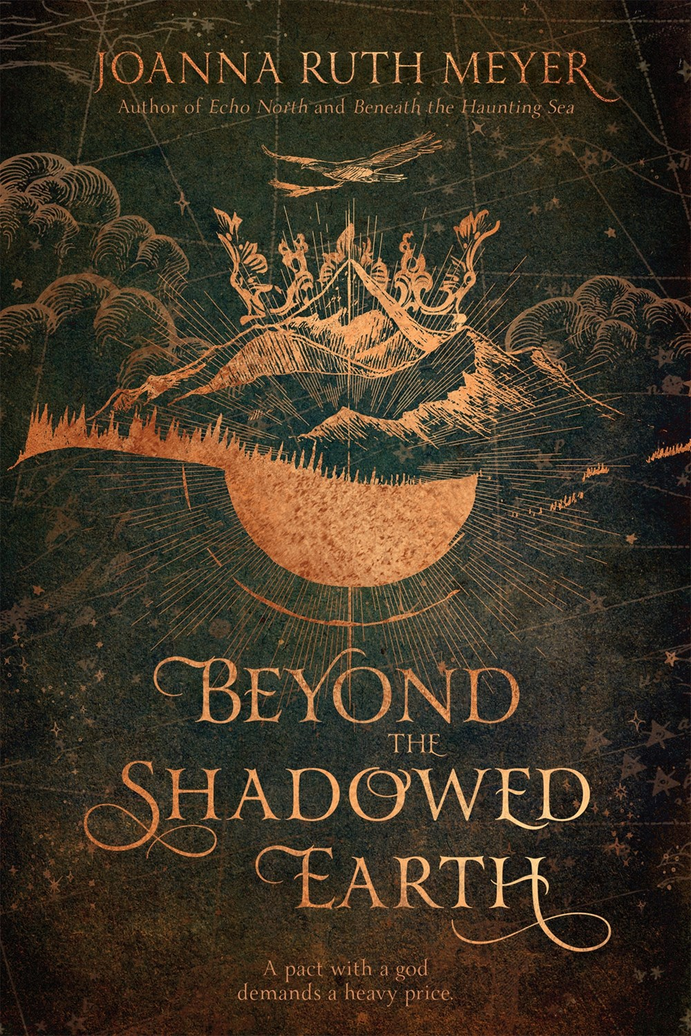 Beyond the Shadowed EarthJoanna Ruth Meyer - It has always been Eda's dream to become empress, no matter the cost. Haunted by her ambition and selfishness, she's convinced that the only way to achieve her goal is to barter with the gods. But all requests come with a price and Eda bargains away the soul of her best friend in exchange for the crown.Read more here »
