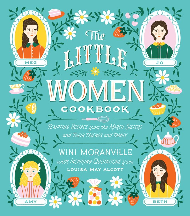 The Little Women Cookbook - Here at last is the first cookbook to celebrate the scrumptious and comforting foods that play a prominent role in Louisa May Alcott's classic novel Little Women. If your family includes a Little Women fan, or if you yourself are one, with this book you can keep the magic and wonder of the beloved tale alive for years to come.Quarto Group, Oct. 1, 2019.Read more here »