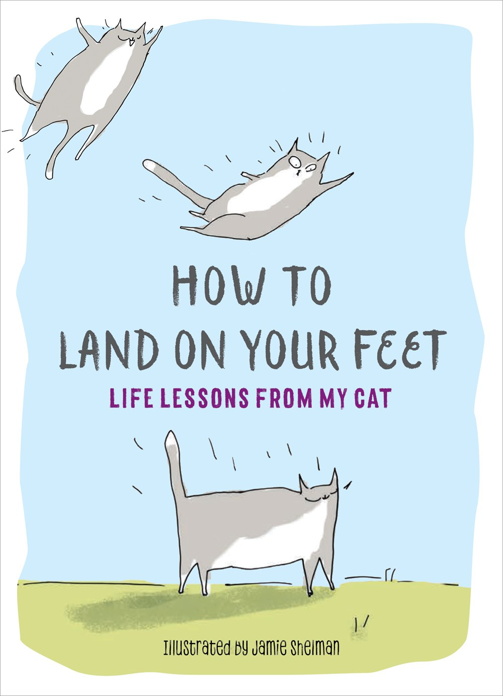 How to Land on Your Feet: Life Lessons From My Cat - Take it from artist Jamie Shelman's wry and furry felines: Cats work reasonable hours (zero), love wisely (from a distance), and live boldly (until someone starts vacuuming). Don't go without these 100 sage lessons:- Be especially attentive to the one person who doesn't like you.- Get away with murder by looking cute.- Ignore anyone who doesn't worship you.Read more here!
