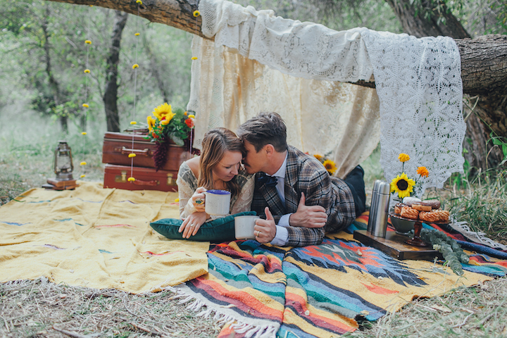 Colorado Engagement | Forever Cole Events | Lace Tent
