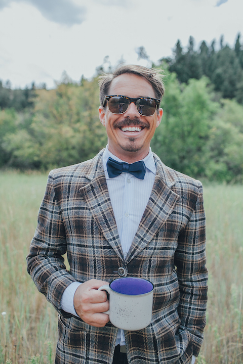 Colorado Engagement | Forever Cole Events | Groom in Field