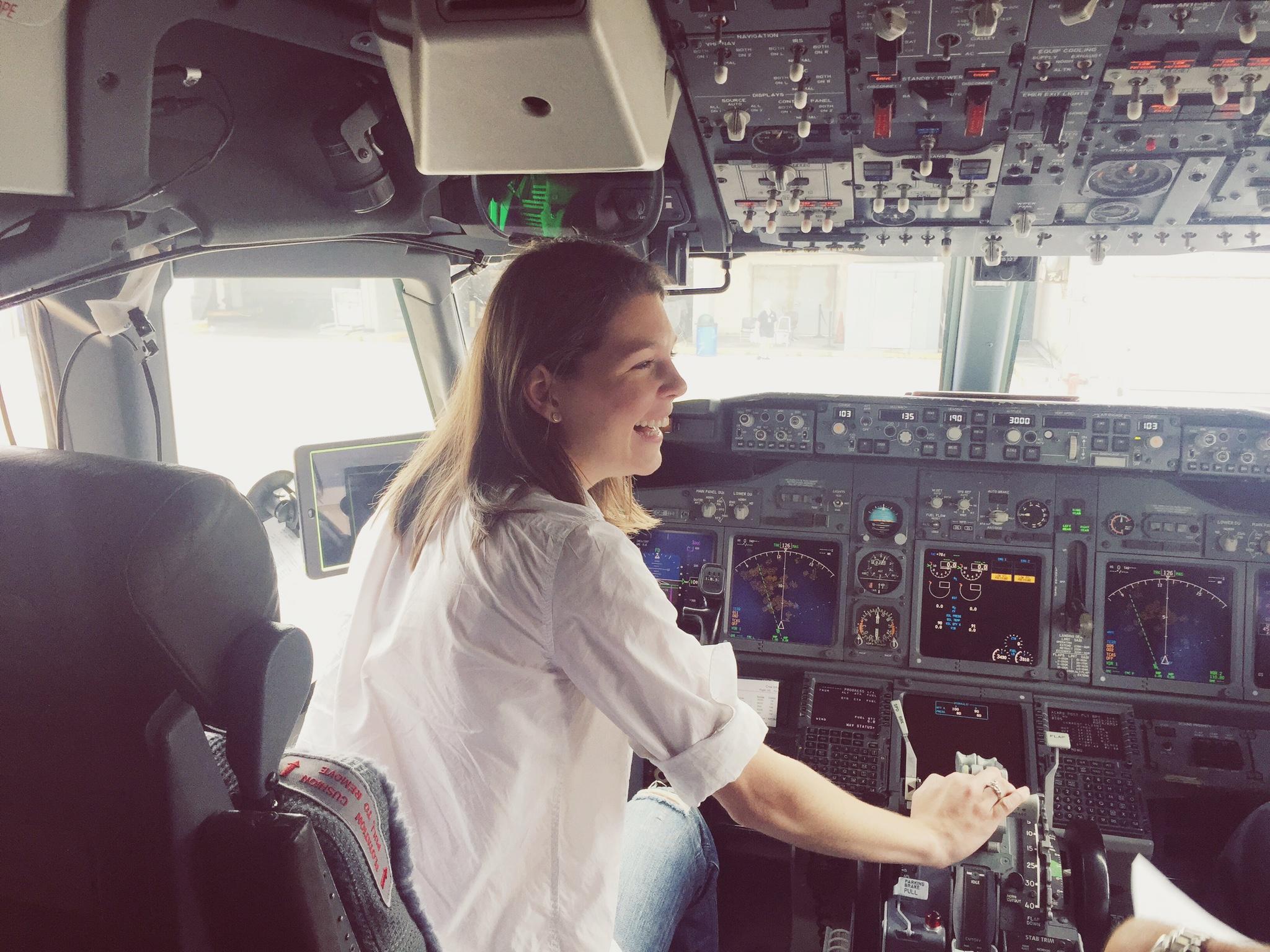 My dream job...a pilot!