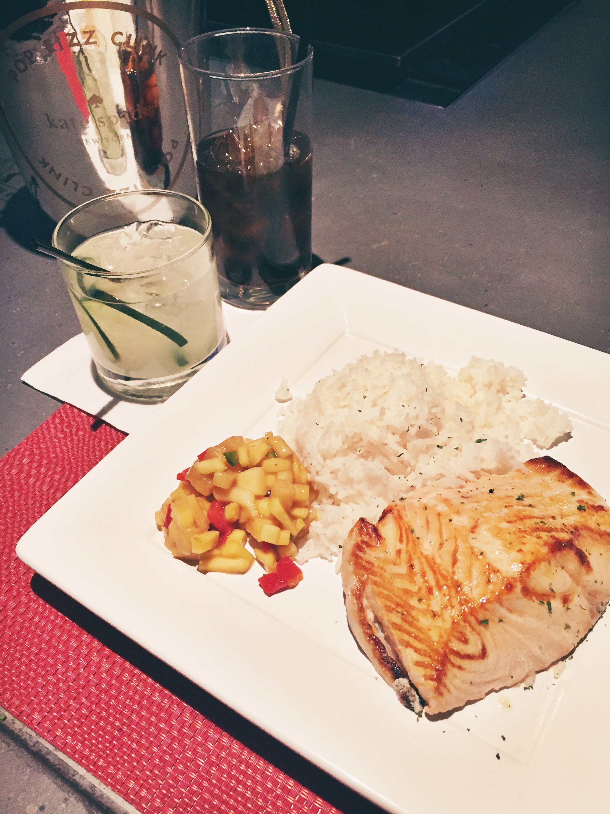 gin and salmon might be the new trend, but Diet Coke never goes out of style...