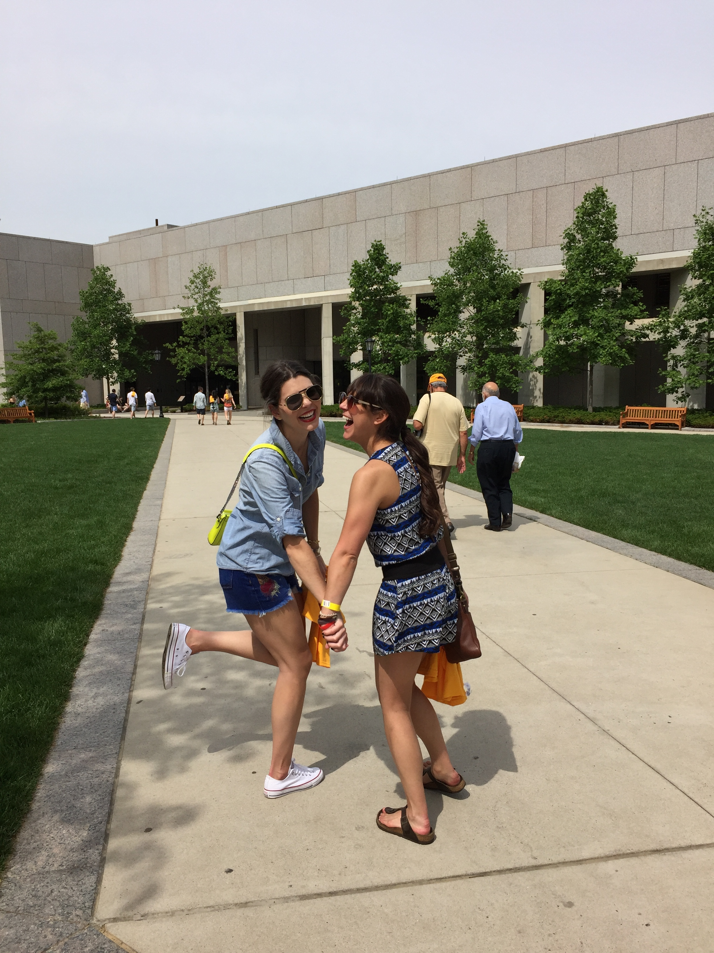 Reunions are for the Rooms. This girl held down the fort four straight years.