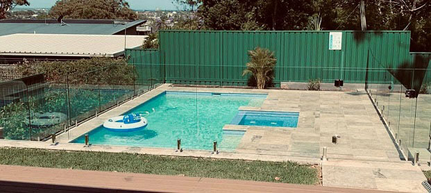 frameless glass pool fence overview