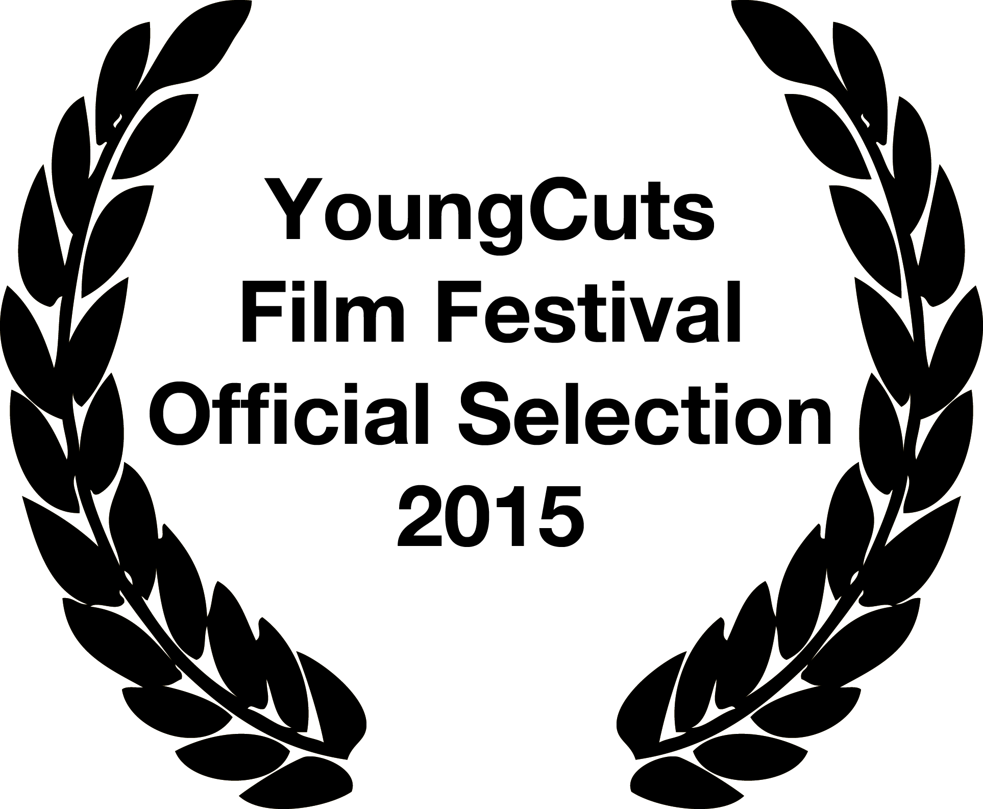 YCFF Official Selection Laurels Black.png