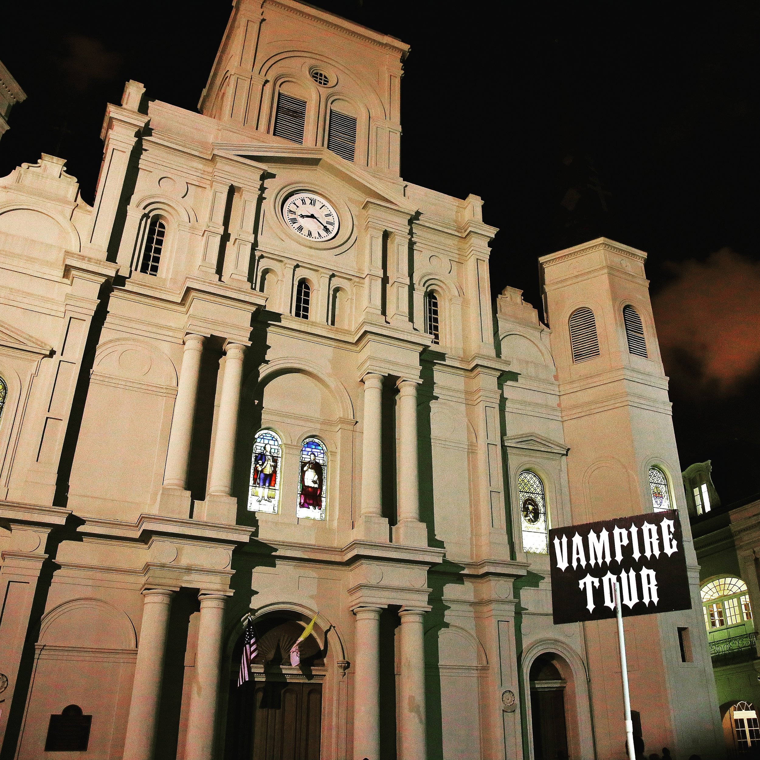 Vampires of the French Quarter Walking Tour - $25 per person. 8:30 p.m. nightly.
