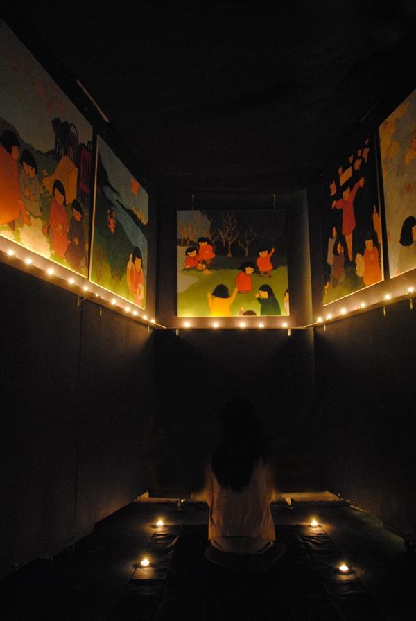 Installation for Chronicle of Mushroom Girls