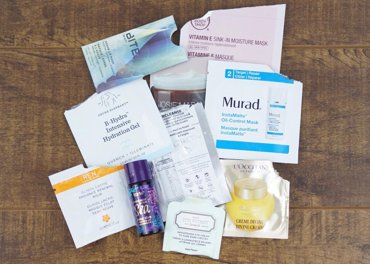 Skincare samples!