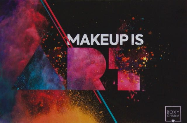 The May theme was 'Makeup Is Art'.