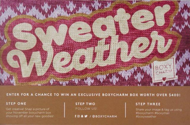 November 2017 BoxyCharm-Sweater Weather-CardNovember 2017 BoxyCharm-Sweater WeatherDSC02857.jpg