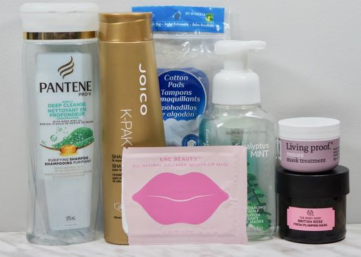 Hair/Face/Body care that I used up in December, 2017.