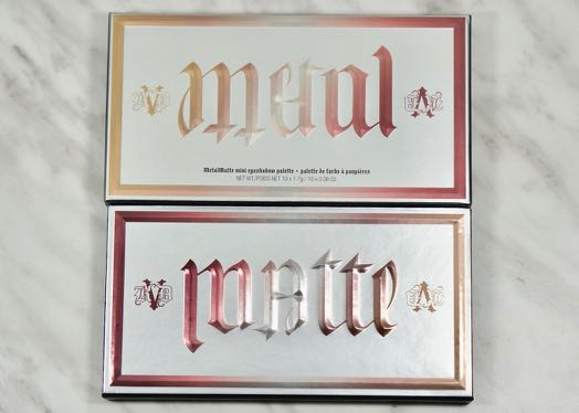 KVD mini Metal/Matte palette, I wasn't going to miss out on this one.