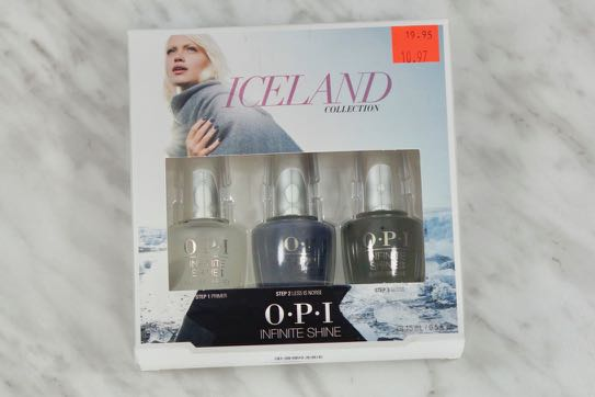 OPI Infinite Shine Less Is Norse set.