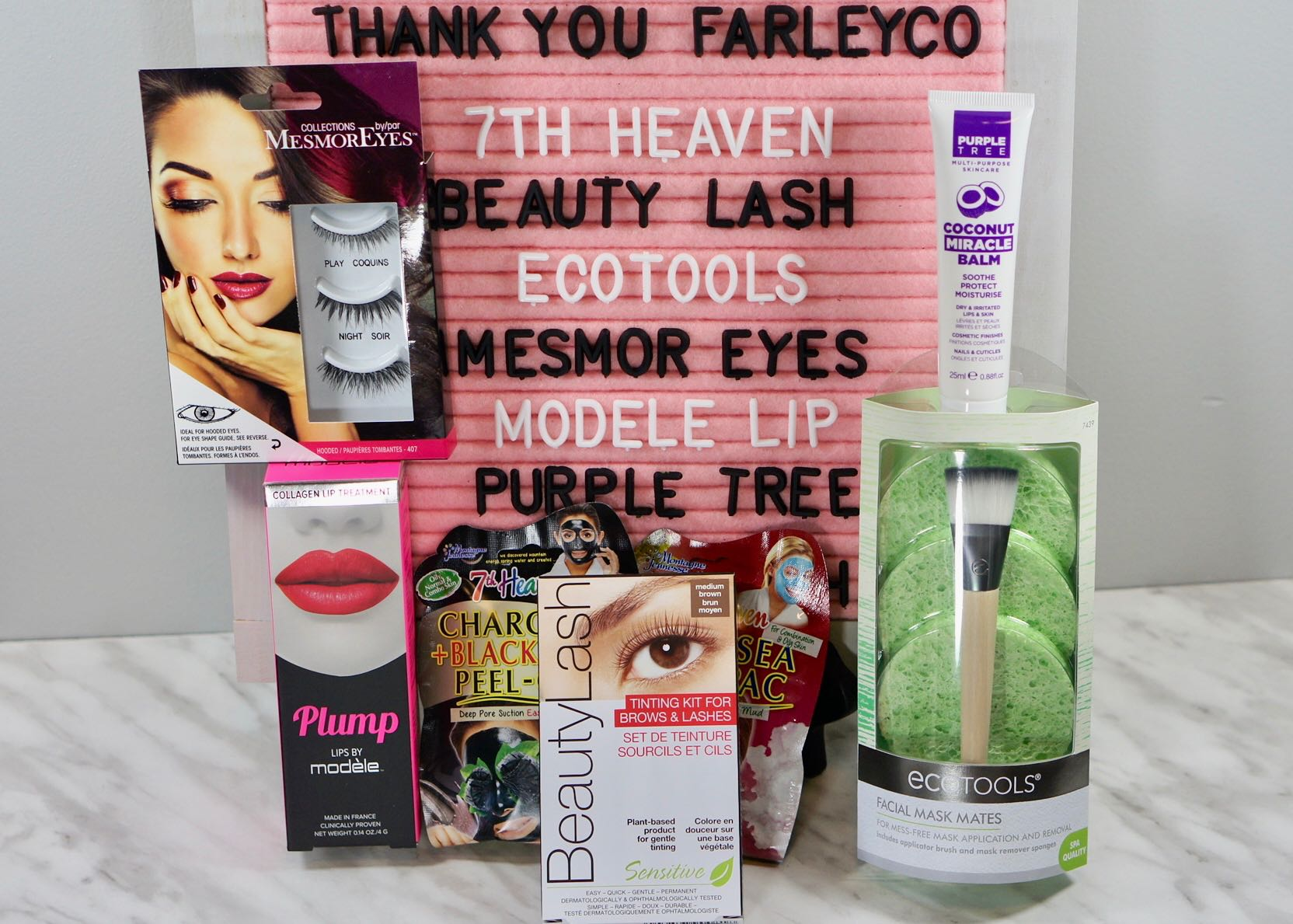 The Spring into Summer box from Farlyco.