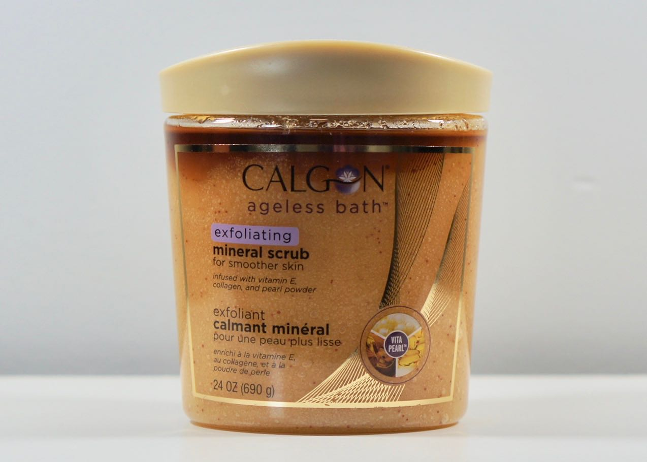 Calgon Body scrub, a repurchase!