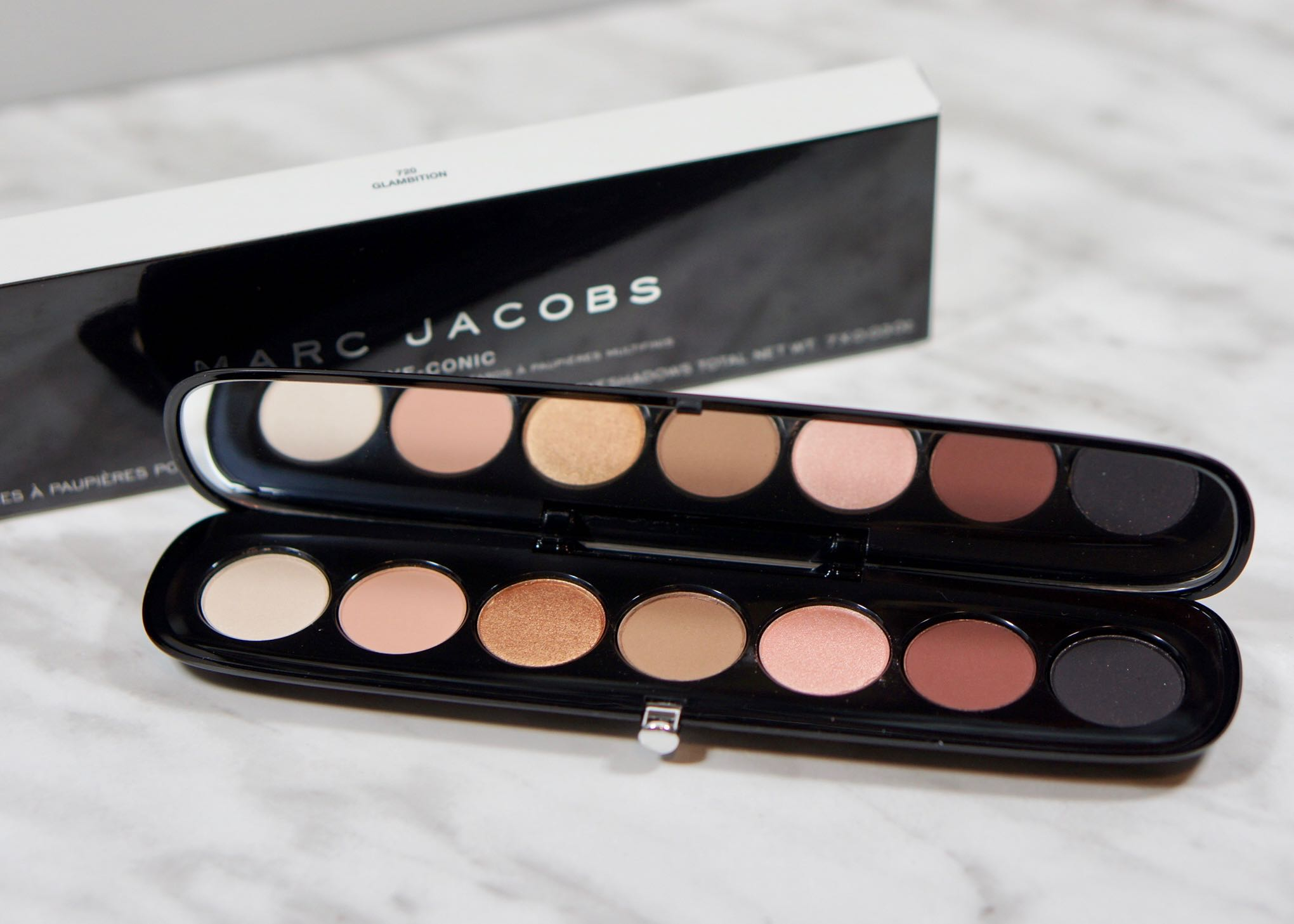 Everything about the Marc Jacobs palette Glambition is beautiful!
