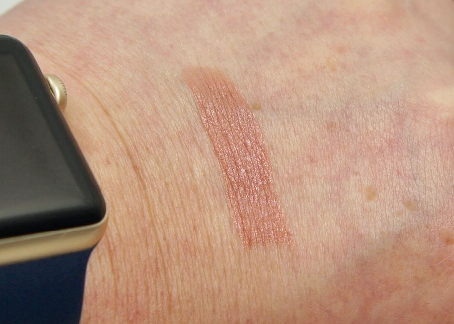 Swatch of Mac Love U Back Matte Lipstick.