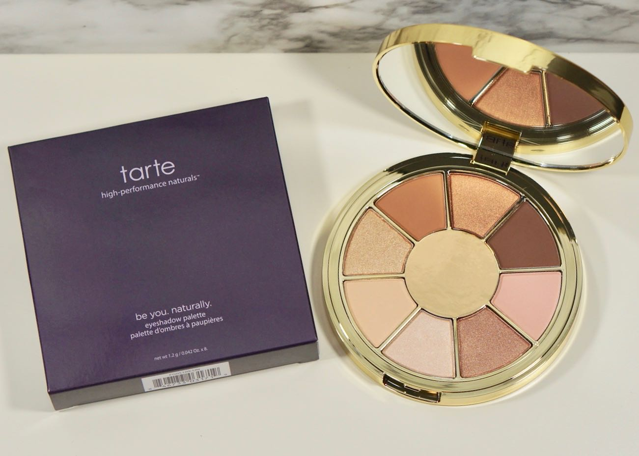 Tarte-Be you. Naturally. Eyeshadow paletteDSC01504.jpg