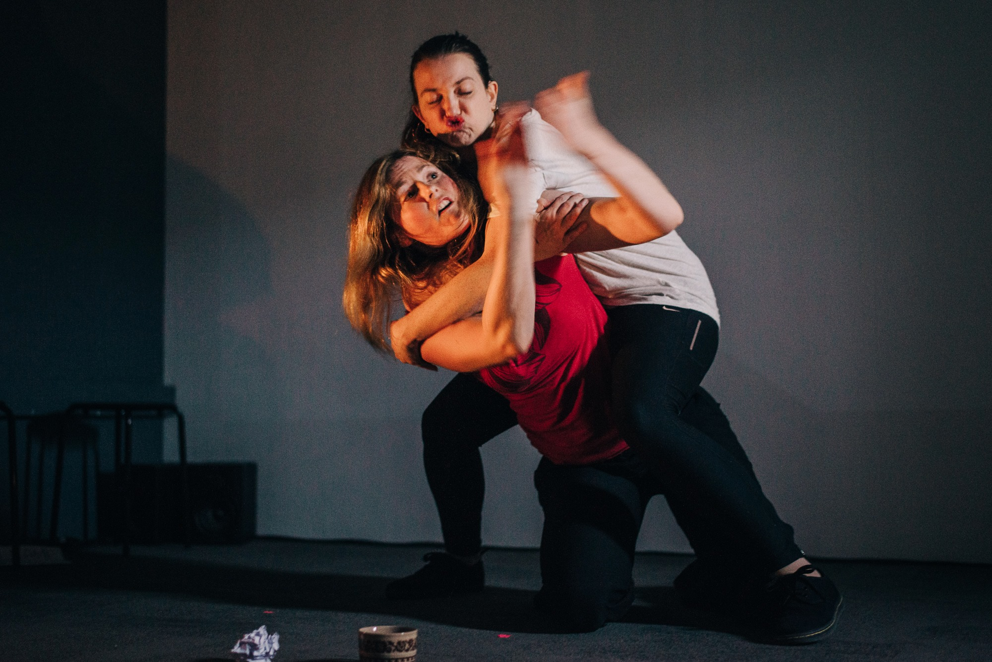 Erin Siobhan Hutching and Sophie Stone as sisters in People of the Eye