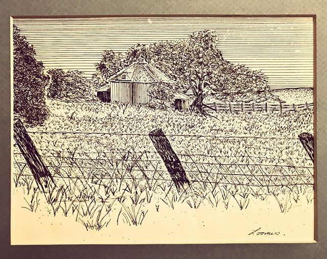 I received a really nice surprise in the mail today from my high school friend Mike's sister Pam. It's an ink drawing of the Santa Rosa Round Barn that I made and gave to her around 1981 or 82. It's sad to know the barn is gone. My aunt and uncle Fred and Diane Loomis lost their home in the 2017 fire as did thousands of other families. I pray for a less tragic fire season. Peace my friends!