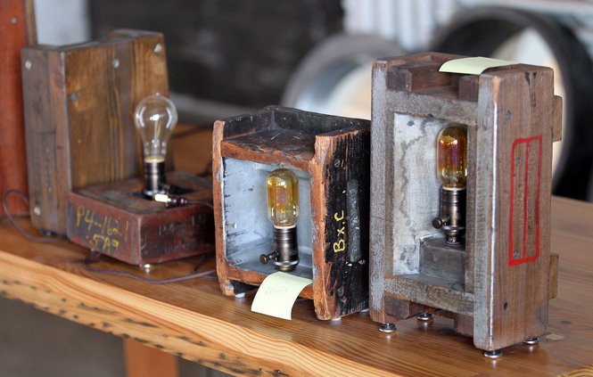 Industrial style edison bulb llamps