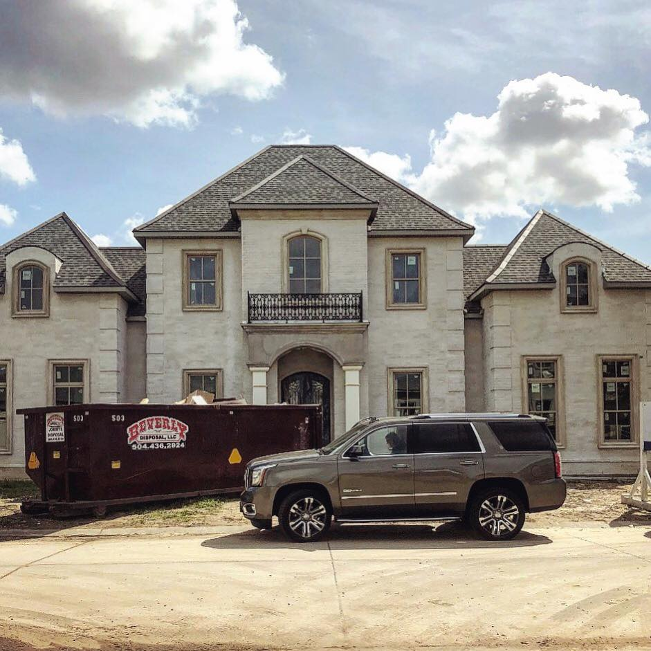 Progress Photo of New Construction Home in Gabriel Estates Designed by JL Studio