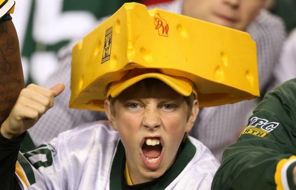 """Wear cheese, don't eat it!"""