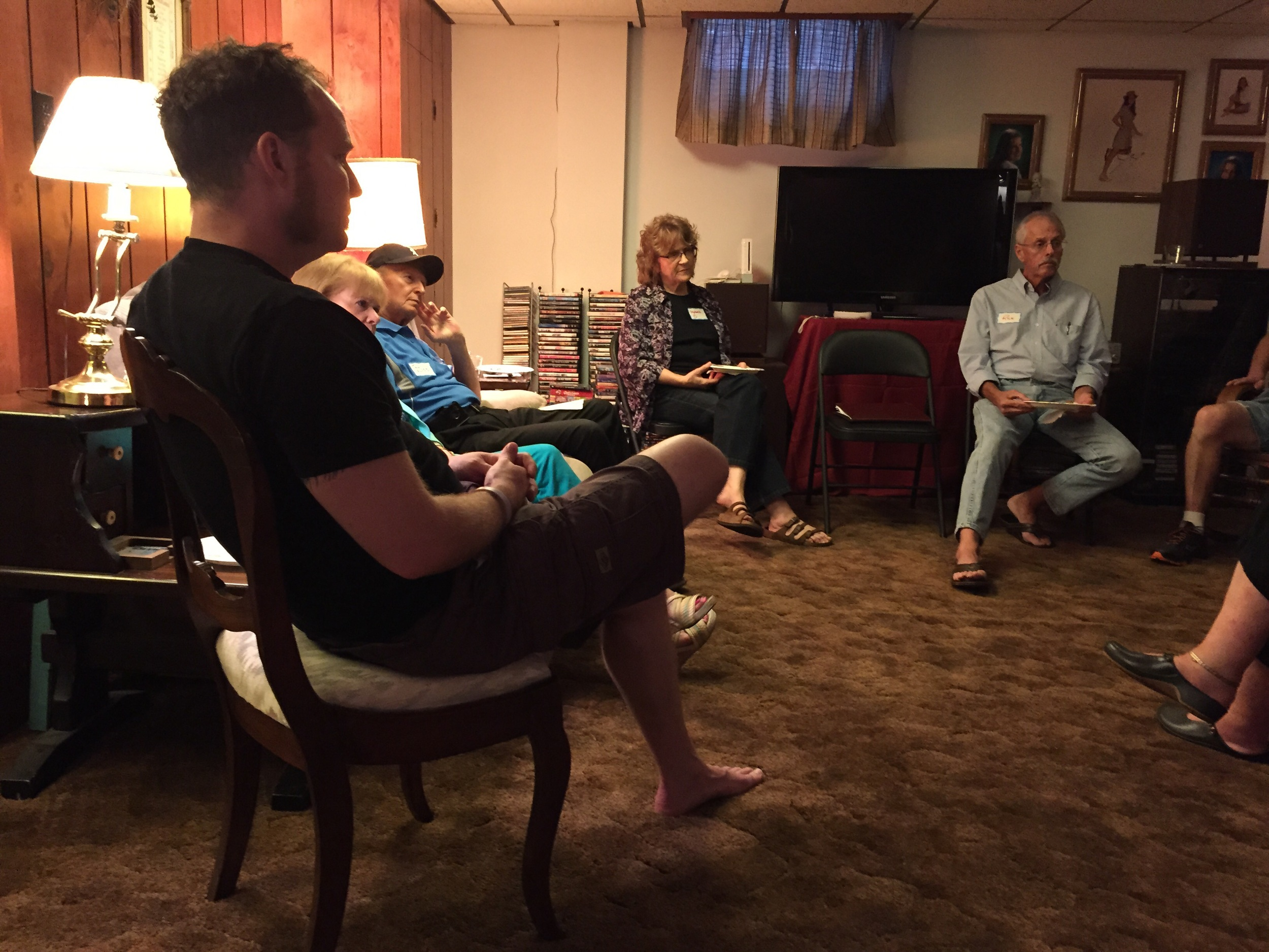 Dearborn Small Group Meeting on 6/17/15
