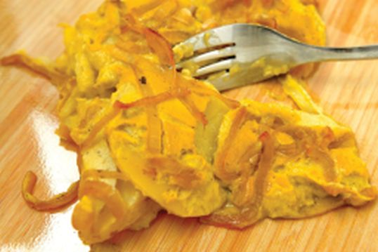 Del Sroufe Scallope Potatoes with Saffron Cream.jpg
