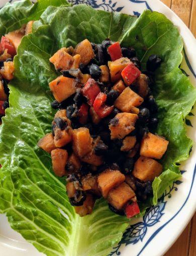 Jeff Tritten, Black Bean Seet Potato Lettuce Wraps.jpg