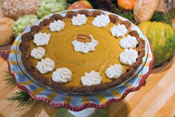 Jazzy Vegetarian pumpkin pie.jpg