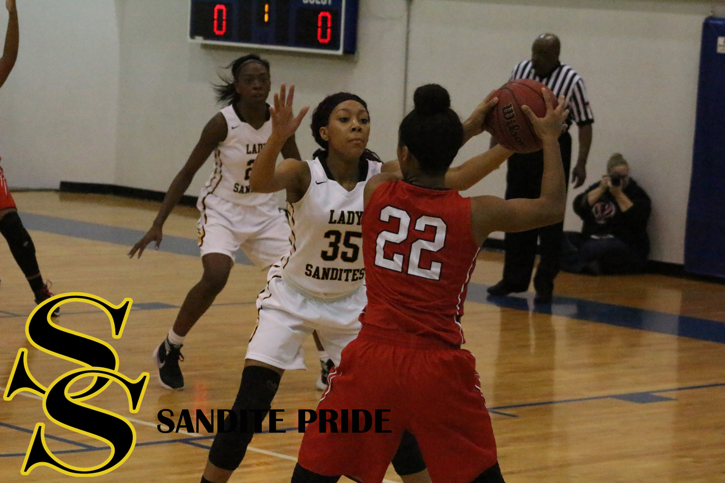 Freshman Destiny Johnson scored a team-high 15 points in a 41-32 playoff win over Union Thursday night.