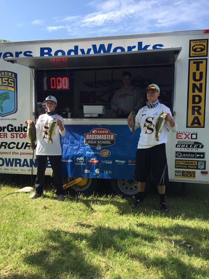 SUBMITTED: Steelman (left) and Millican (right) are sponsored by Colburn Electric, A&M Baits, Basskwondo, New Wave Plastics, Lews, and Bison Coolers.