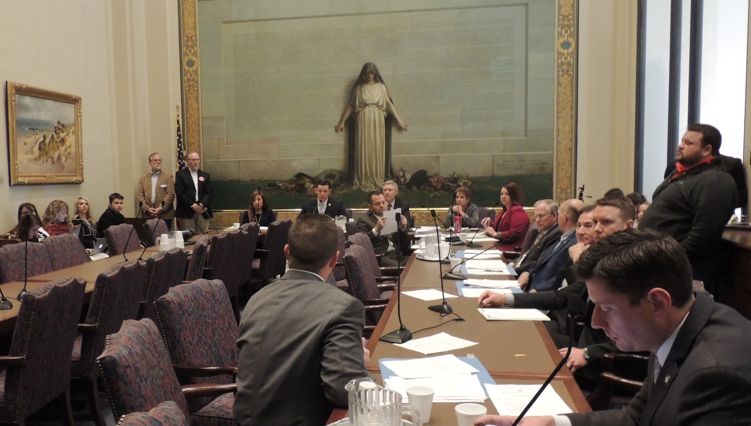 Members of the Senate Appropriations Subcommittee on Education heard six measures to raise teacher pay on Wednesday. (SUBMITTED).