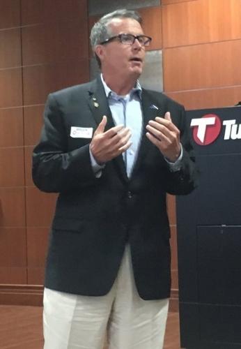 Brian O'Hara speaks at a Chamber forum 170807 (Scott Emigh).jpeg