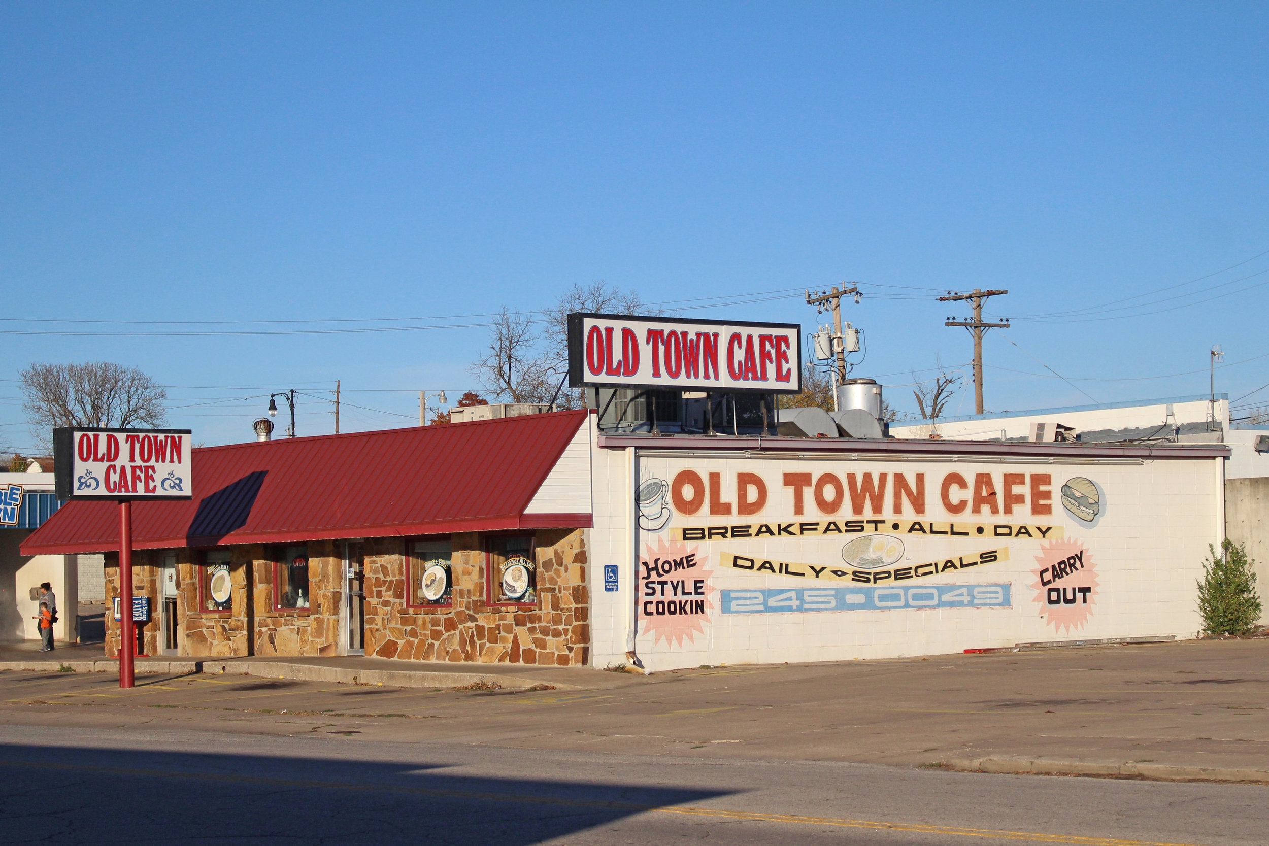 old town cafe - Triangle District 207 North lincoln avenue