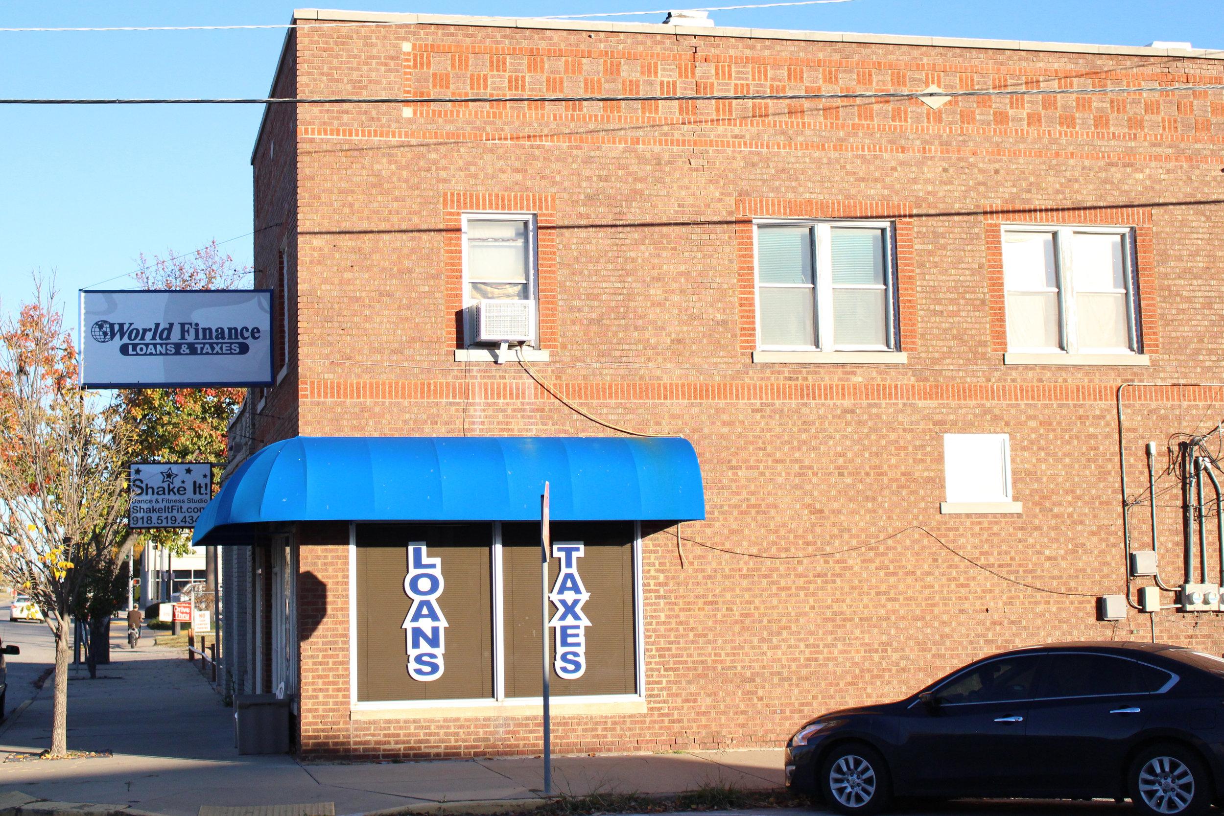 world finance loan & tax service - downtown 100 east 2nd street