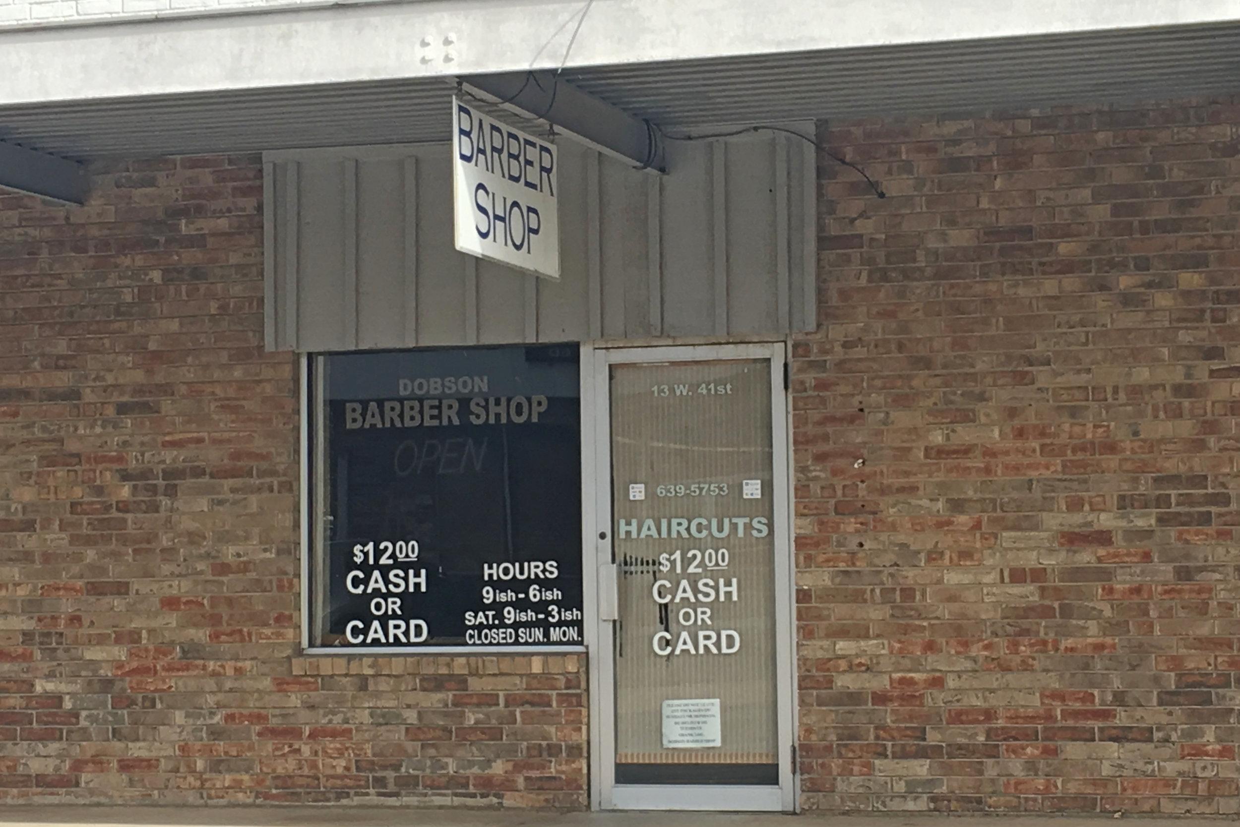 dobson barber shop - prattville center 7 west 41st street
