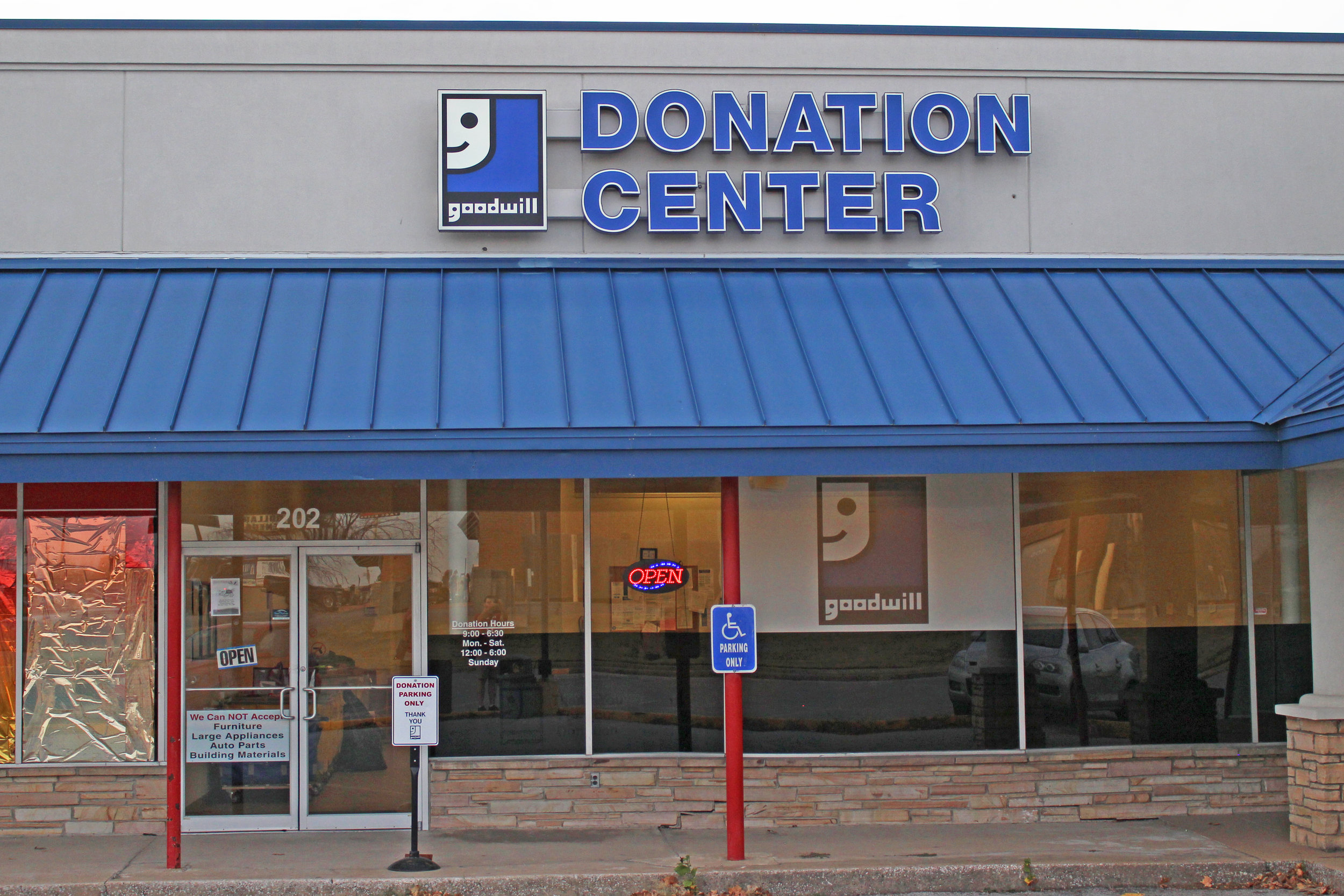 goodwill industries donation center - downtown 202 north jefferson avenue