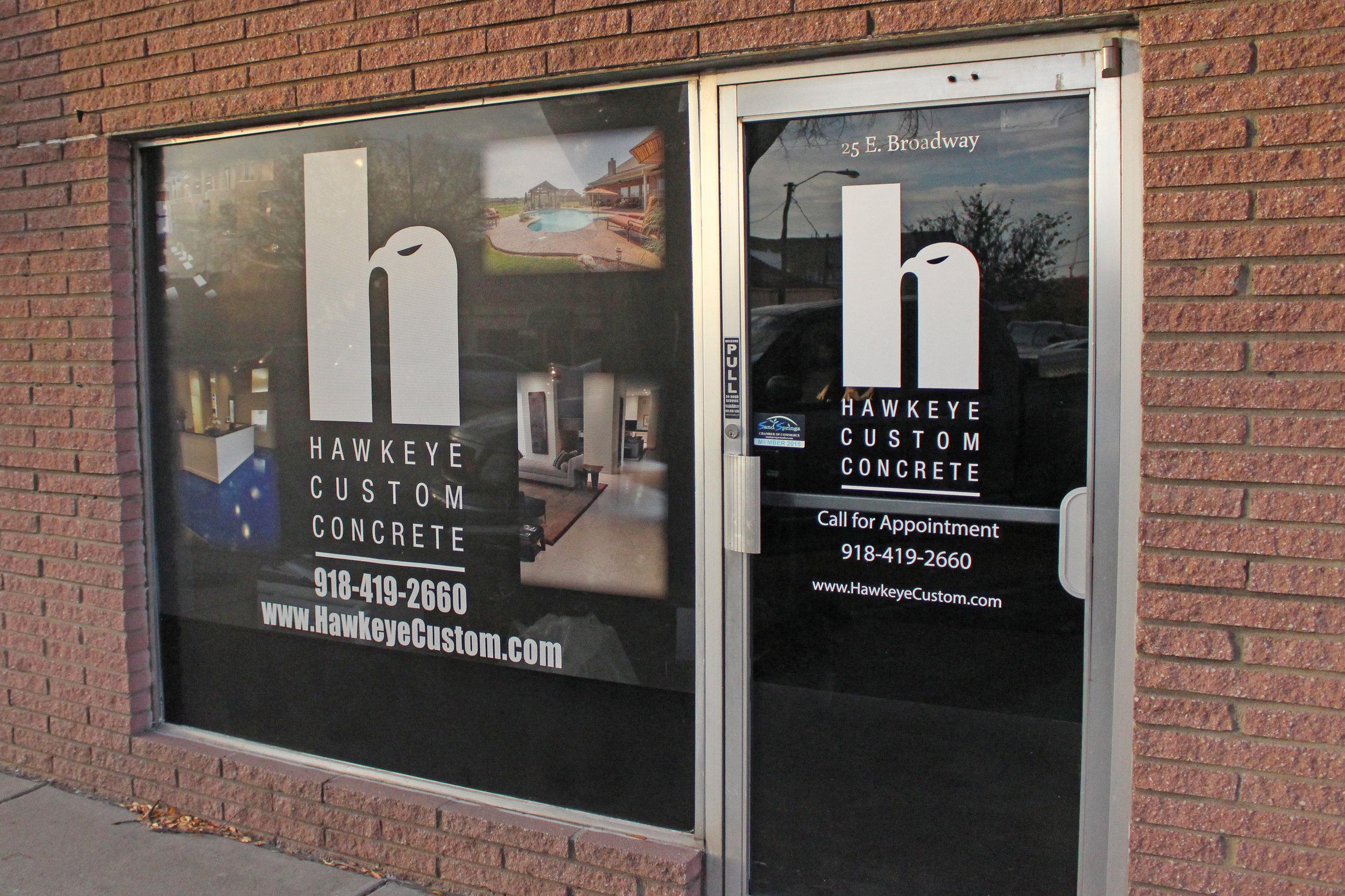 hawkeye custom concrete - downtown 1210 east pecan street, suite b