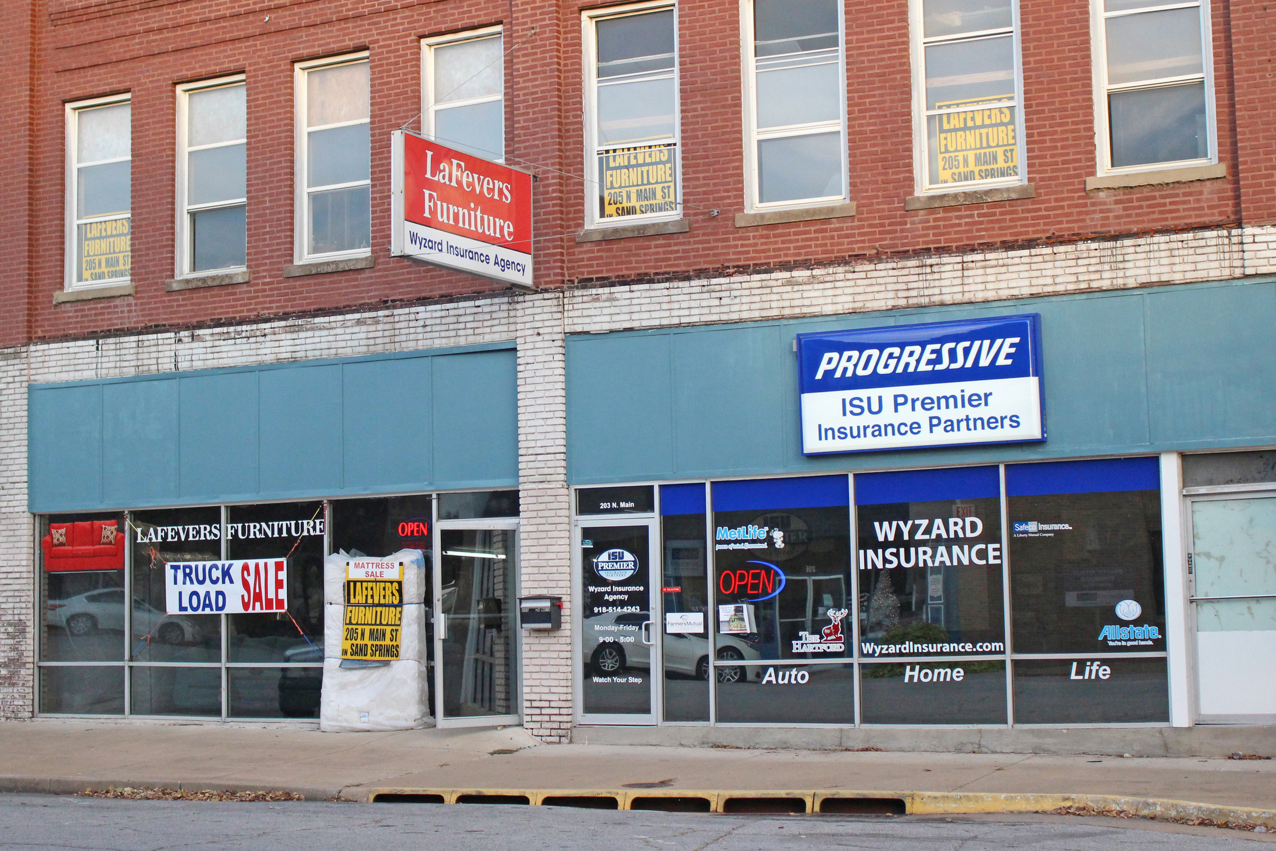 lafevers furniture - downtown 205 north main street